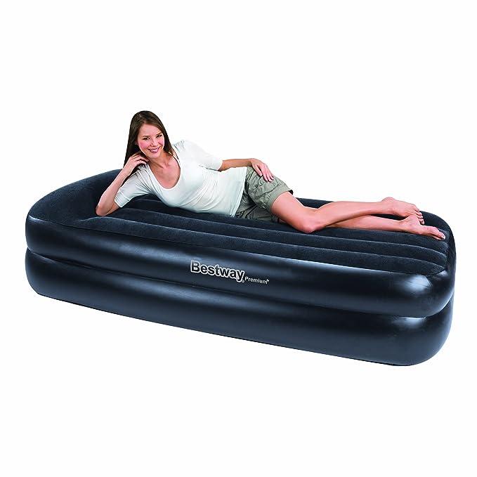 Bestway Premium Single colchón Hinchable (con Bomba de Aire ...