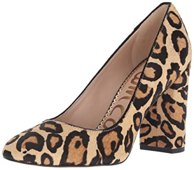 fa9caf95f Sam Edelman Women s Stillson Pump New Nude Leopard 5 ...