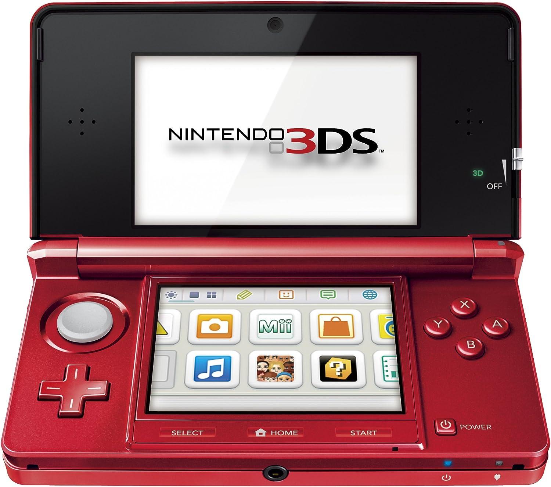 Nintendo 3DS - Color Rojo Metálico: Amazon.es: Videojuegos