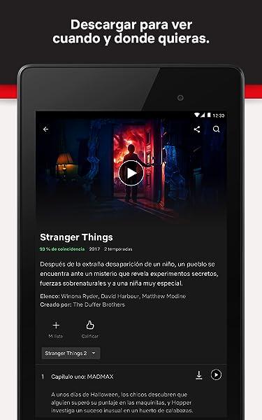 Netflix:Amazon:Appstore