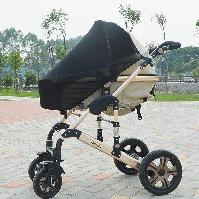 Cochecito de bebé Anershi carrito portátil plegable