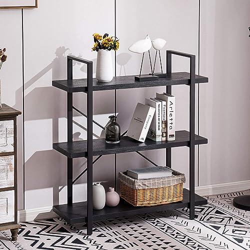Apicizon 3 Tiers Bookshelf and Bookcase