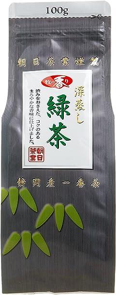 牧の香り 深蒸し緑茶1000 100g