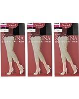 (グンゼ)GUNZE SABRINA Natural fit(サブリナ ナチュラルフィット)ひざ下丈ショートストッキング〈同色3足組〉SBS300-3