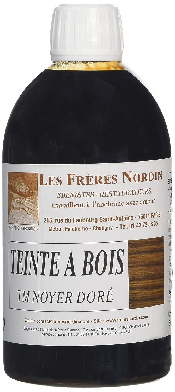 Les Frères Nordin 410507 Teinte à Bois Noyer Doré Les frères Nordin