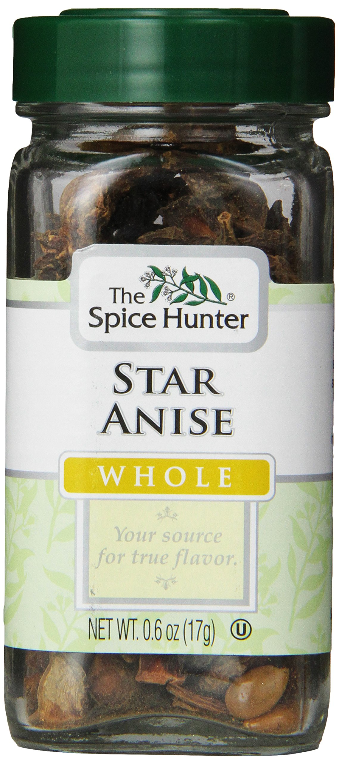 The Spice Hunter Star Anise, Whole, 0.6 Ounce Jar (Pack of 48)