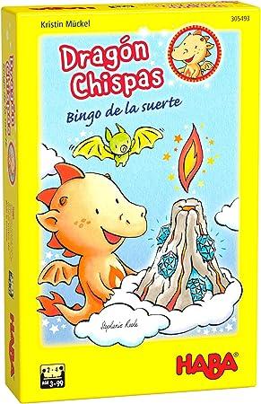 Haba- Dragón Chispas Bingo de la Suerte-ESP Juego de Mesa (Habermass H305493): Amazon.es: Juguetes y juegos