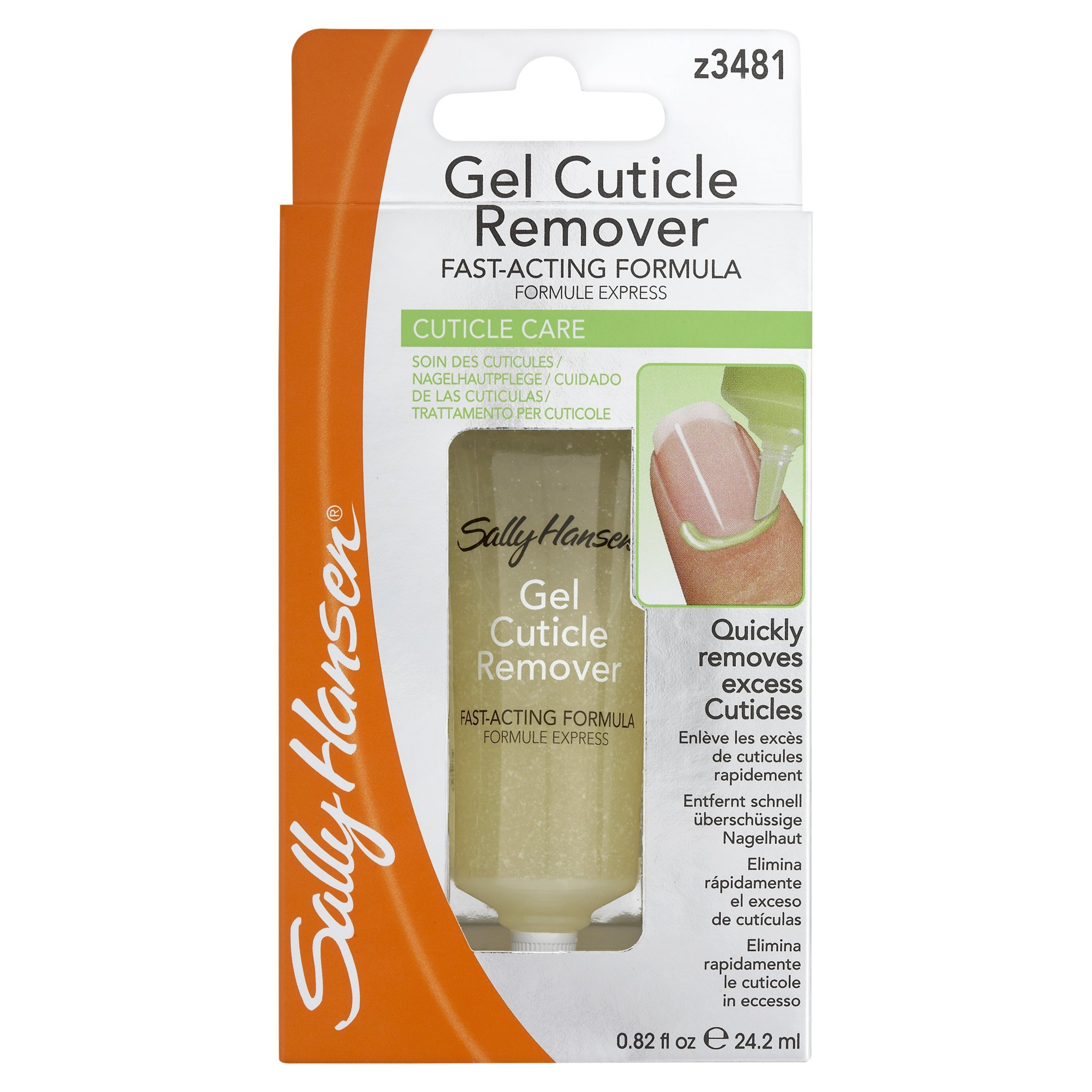 Sally Hansen Gel Cuticle Remover 0.9 Ounce (27ml) by Sally Hansen