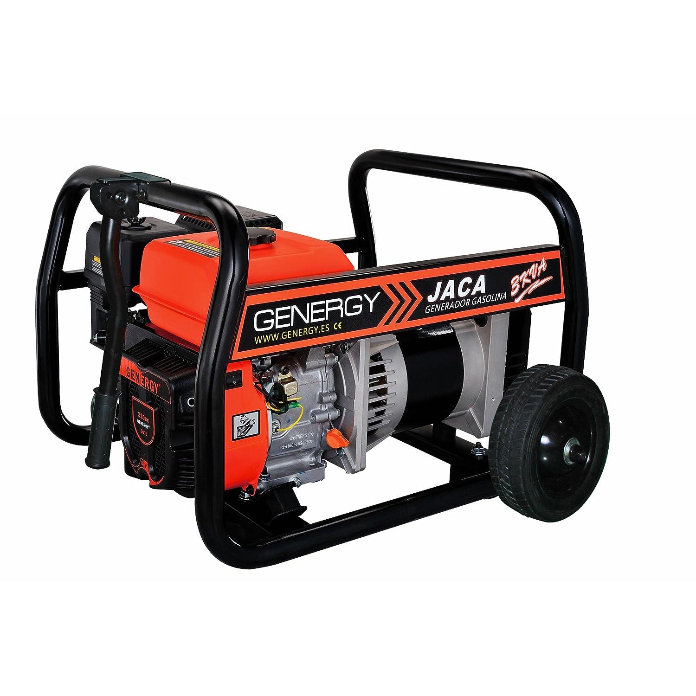 Genergy R-2013011 - Generador a gasolina Genergy Jaca 3000 VA 230 V: Amazon.es: Bricolaje y herramientas