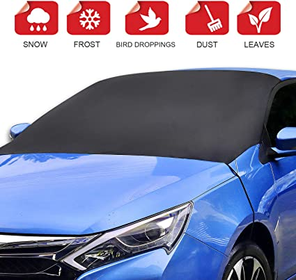 SUV Car Rear Windshield Snow Cover Magnetic with Storage Pouch-Ultra Durable Weatherproof RAINPROOF Design Sun//Snow Cover Shield Dust Protector Cover for SUV Car Truck RVS L Hook for Car /& SUV