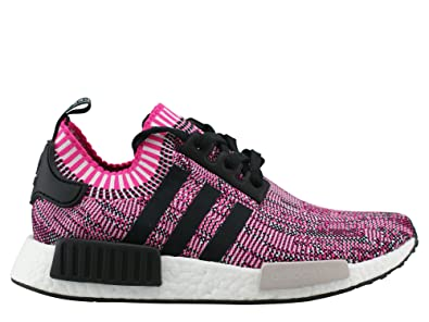 new concept a98d6 29050 Amazon.com | Adidas - Nmd R1 Primeknit Women Shock Pink ...