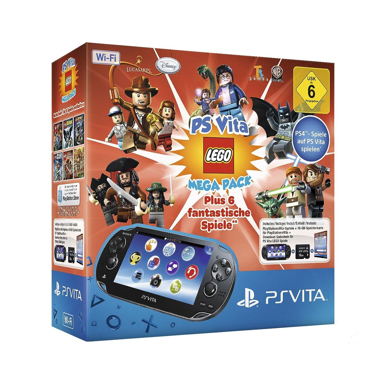 Playstation Vita (Wifi) Inkl. Lego Mega Pack [Importación ...
