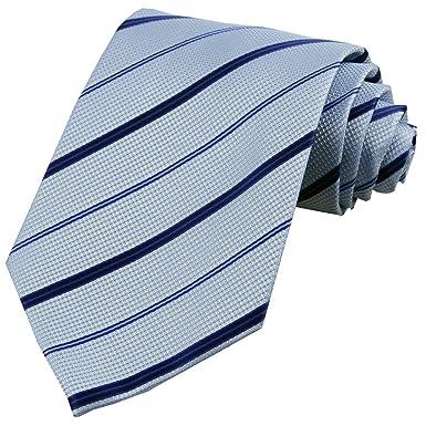 D. berite de hombre de rayas corbata boda Corbatas de seda ...