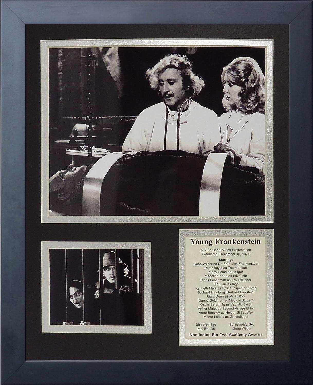 11 x 14-Inch Legends Never DieYoung Frankenstein Framed Photo Collage