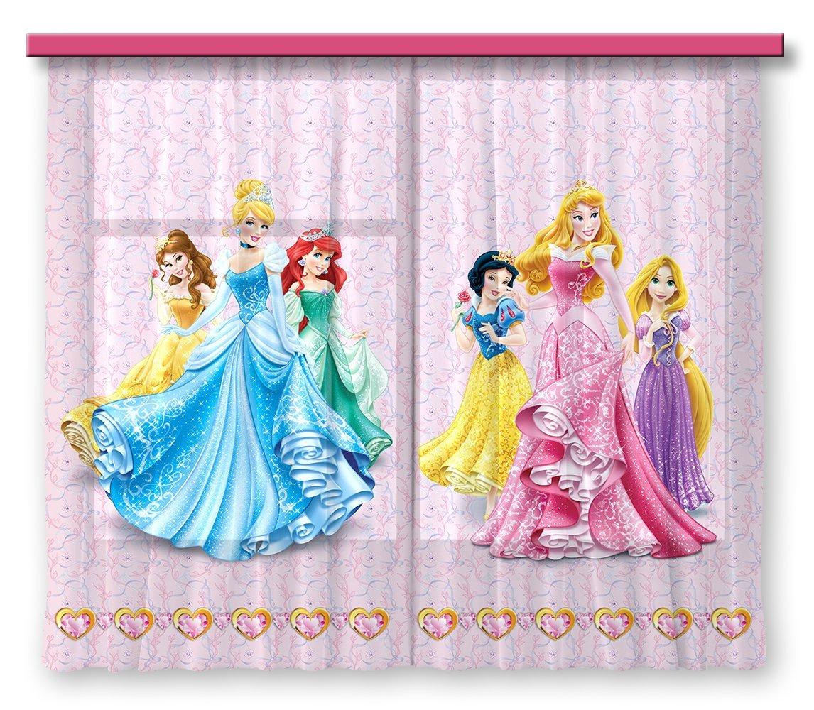 AG Design Rideaux - Princesse Disney - Rideaux Photo - Impression ...