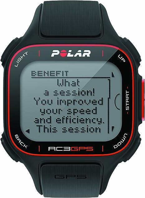 Polar RC3 GPS Reloj con pulsómetro y GPS integrado y sensor de ...