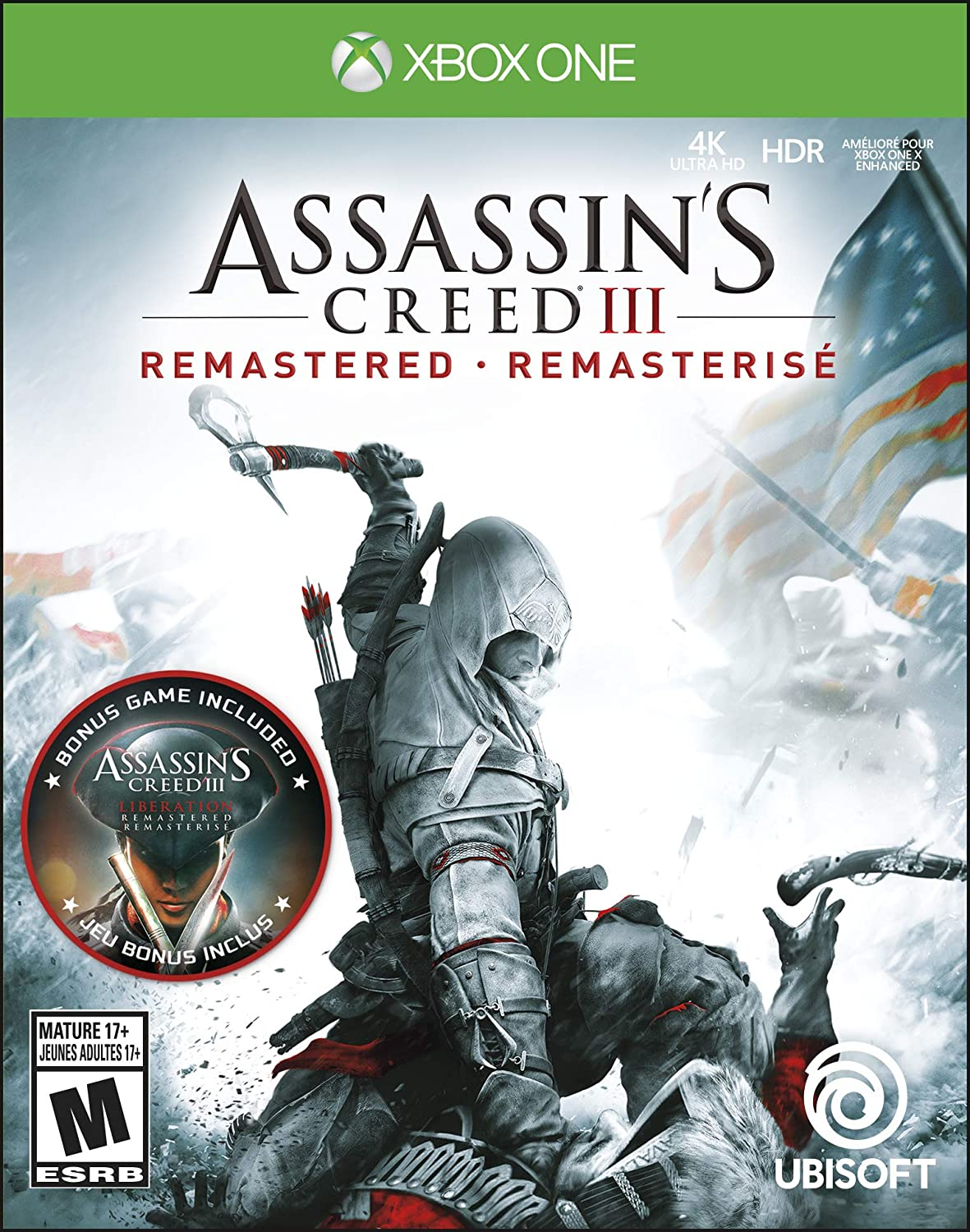 Assassins Creed III: Remastered for Xbox One [USA]: Amazon.es ...