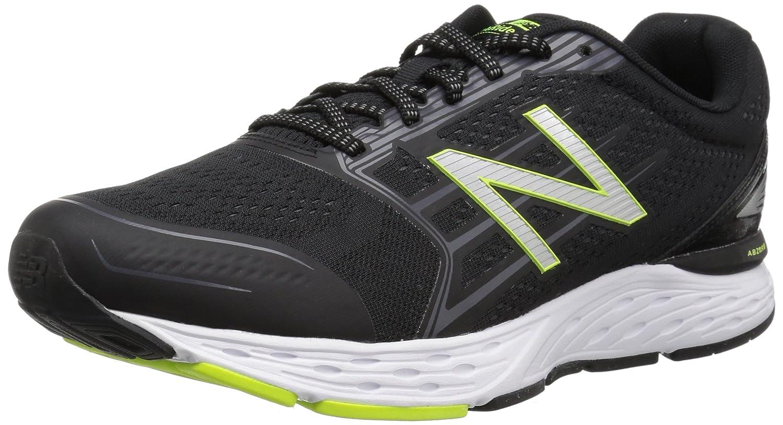New Balance M680v5, Zapatillas de Running para Hombre 46.5 EU Negro (Black)