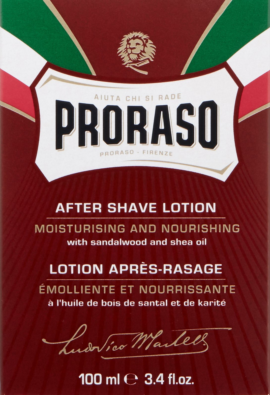 Proraso After Shave Lotion, Moisturizing and Nourishing, 3.4 fl oz by Proraso (Image #3)