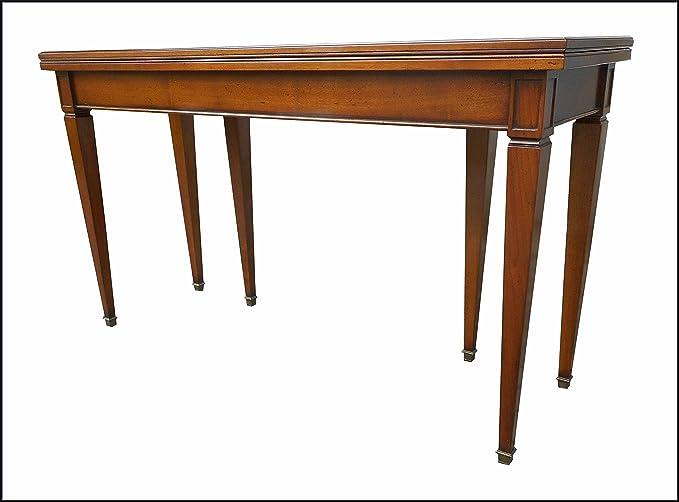 Tavoli A Consolle Allungabili Classici.Tavolo A Consolle In Stile Classico Antico Apribile
