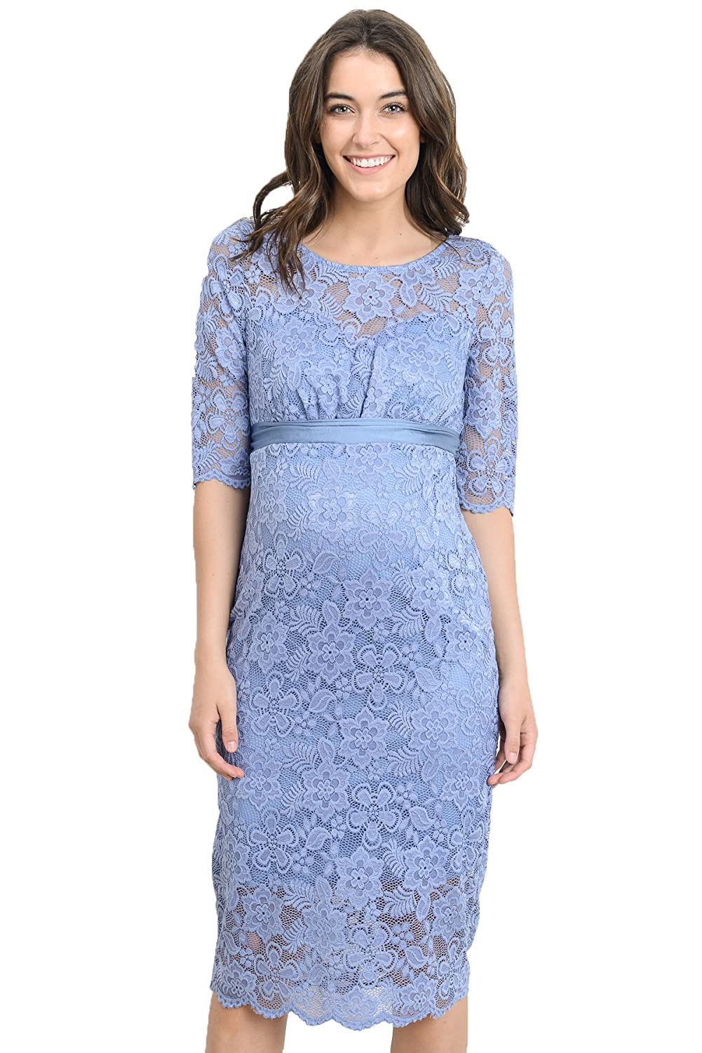 Pinkblush maternity open lace overlay bell sleeve dress at amazon hello miz womens baby shower floral lace maternity dress ombrellifo Image collections