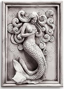 SPI Home Resin Magic Mermaid Wall Art