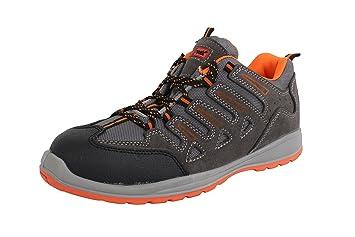 Blackrock sf6503 Unisex adultos de Delaware Suede - Zapatillas de seguridad, 3 UK/36 EU, color gris: Amazon.es: Industria, empresas y ciencia