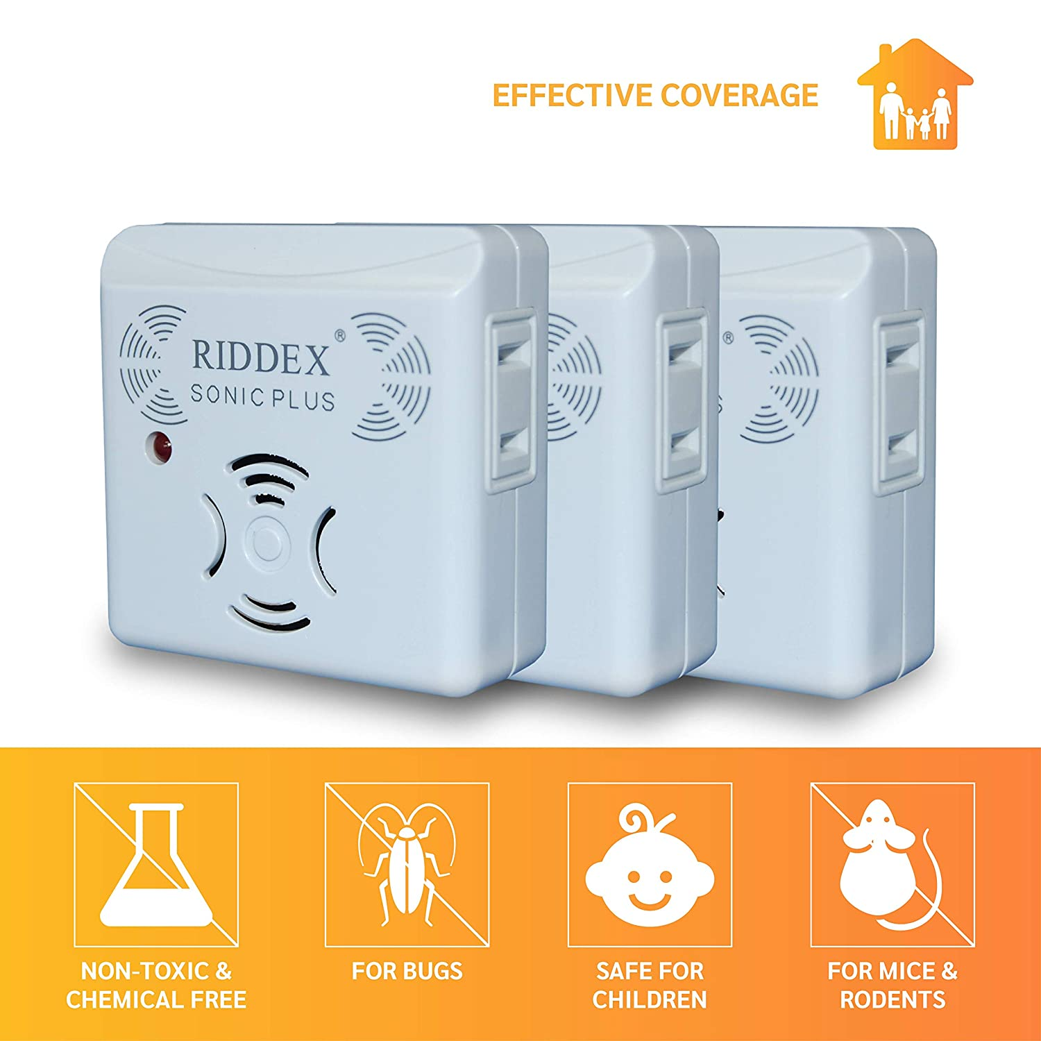 Riddex Sonic Plus for Rodents and Insects