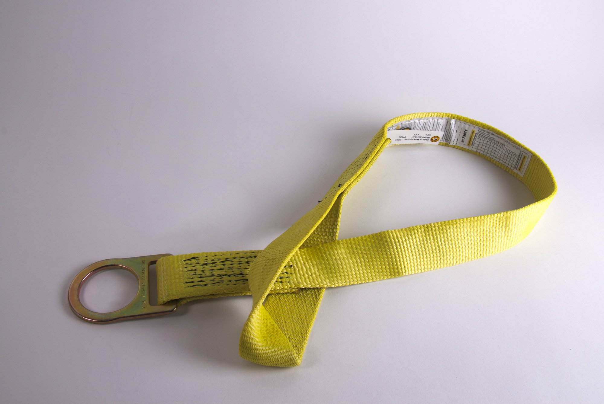 Guardian Fall Protection 01625 XARM-72 6-Foot Cross Arm Strap with Large and Small D-Rings