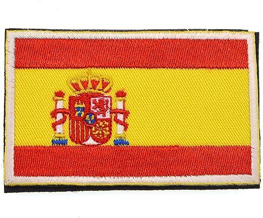 iParaAiluRy Pegatinas de la Bandera con Velcro, podría ser Pegado a la Ropa, Chaleco, Gorra, Mochila Directamente, 5 países a Elegir: Amazon.es: Deportes y aire libre