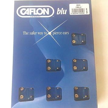 1 DOZ CAFLON MINI GOLD BALL EAR PIERCING STUD NEW haXcI6d