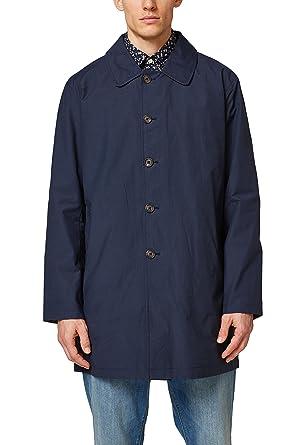 ESPRIT Herren Kurzer Mantel aus Baumwolle  Amazon.de  Bekleidung 624197d73e
