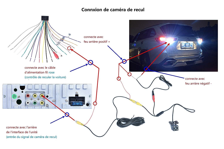 Autoradio 1 din GPS Navegador Autoradio Pantalla Retr/áctil para Coche 7 con Mapa de Europa Radio FM//AM//MP3//SD//USB Autoradio Bluetooth Mano Libre St/ér/éo pieza de C/ámara Marcha Atr/ás y Control Remoto
