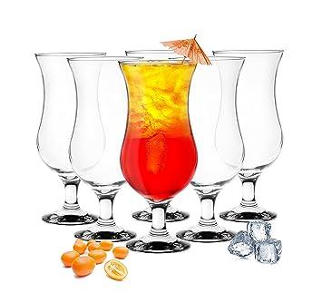 Cocktailgläser 6 stück cocktailgläser 480ml 9 varianten hurricane longdrinkgläser