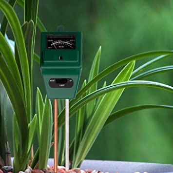 cozytek Sensor de humedad del suelo, medidor, detector de humedad del suelo monitor, ...