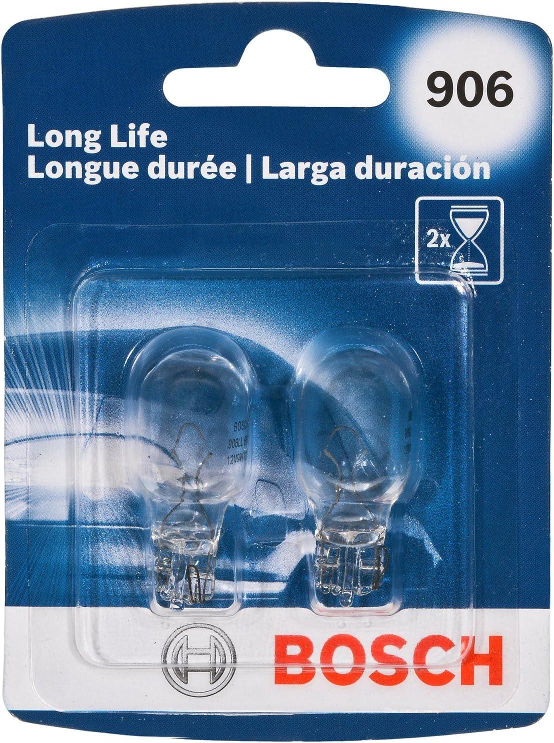 Bosch 906 Long Life Upgrade Minature Bulb, Pack of 2