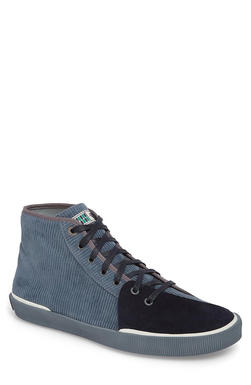 [ランバン] メンズ スニーカー Lanvin Mid Top Sneaker (Men) [並行輸入品] B07C3S8VP8