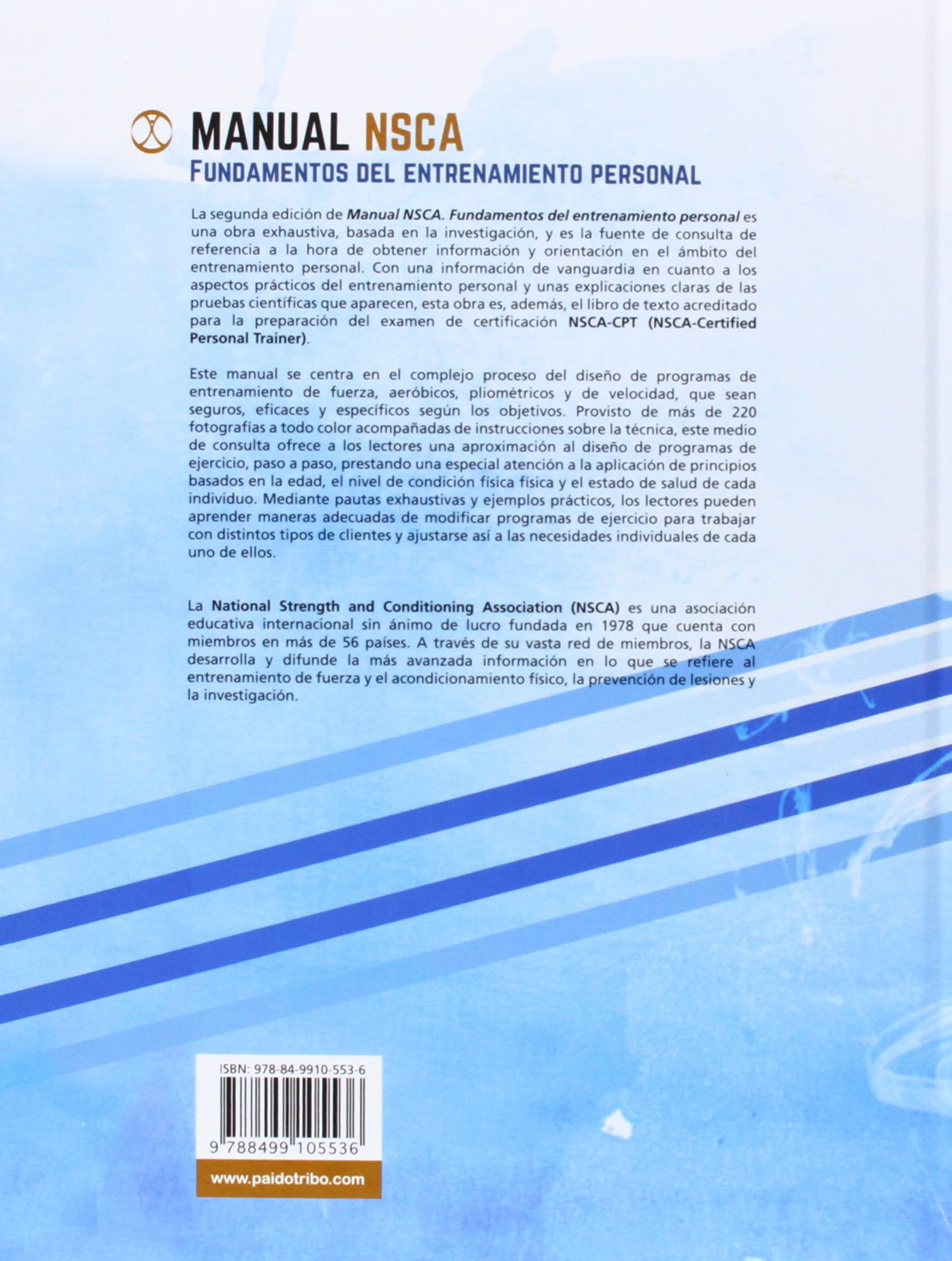 Manual NSCA: Fundamentos del entrenamiento personal: Amazon.co.uk: Moh H.  Malek Jared W. Coburn: 9788499105536: Books