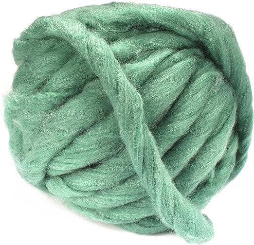 Cream New Fashion Chunky Wool 5 x 100gm Balls 500g