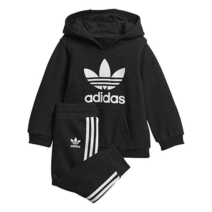 undefeated x biggest discount famous brand adidas Originals Unisex-Baby Trefoil Hoodie Set Tracksuits