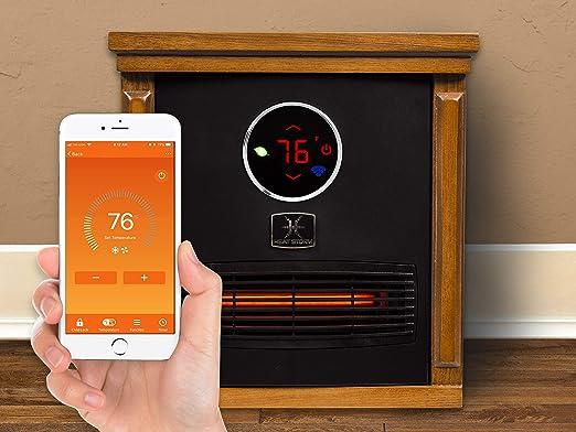 Heat Storm HS-1500-ISMW Infrared WiFi Cabinet Heater