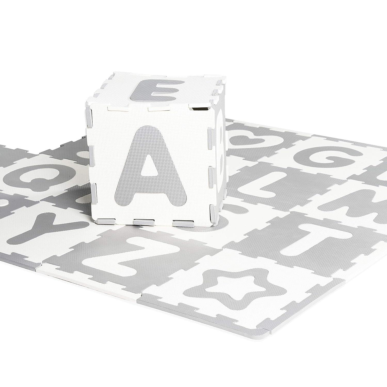 Amazon Com Jelly Beanz Eva Foam Floor Play Mat Of Puzzle Pieces