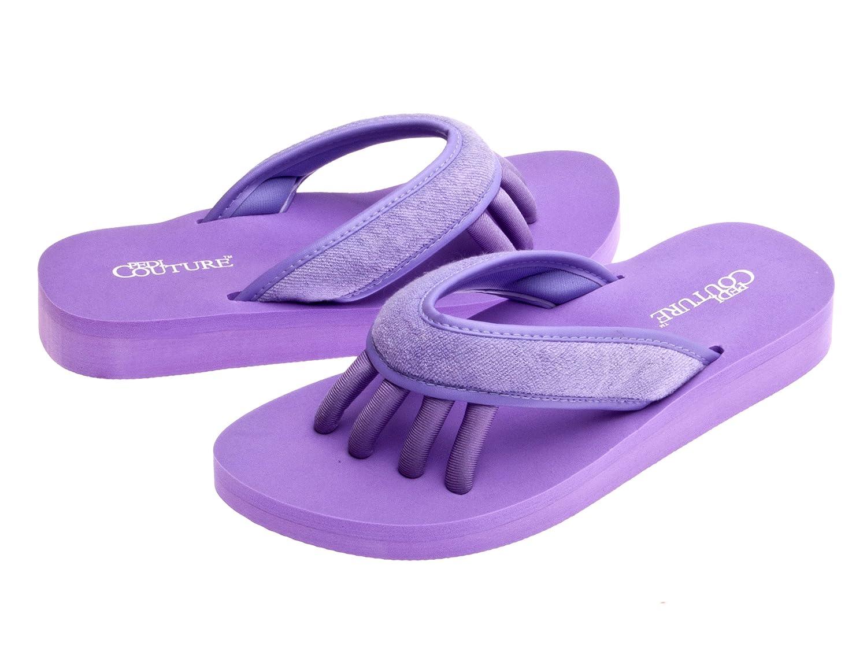 Pedi Couture SPA Pediküre Sandale Lila, Größe M Größe M SPA-LIL-M