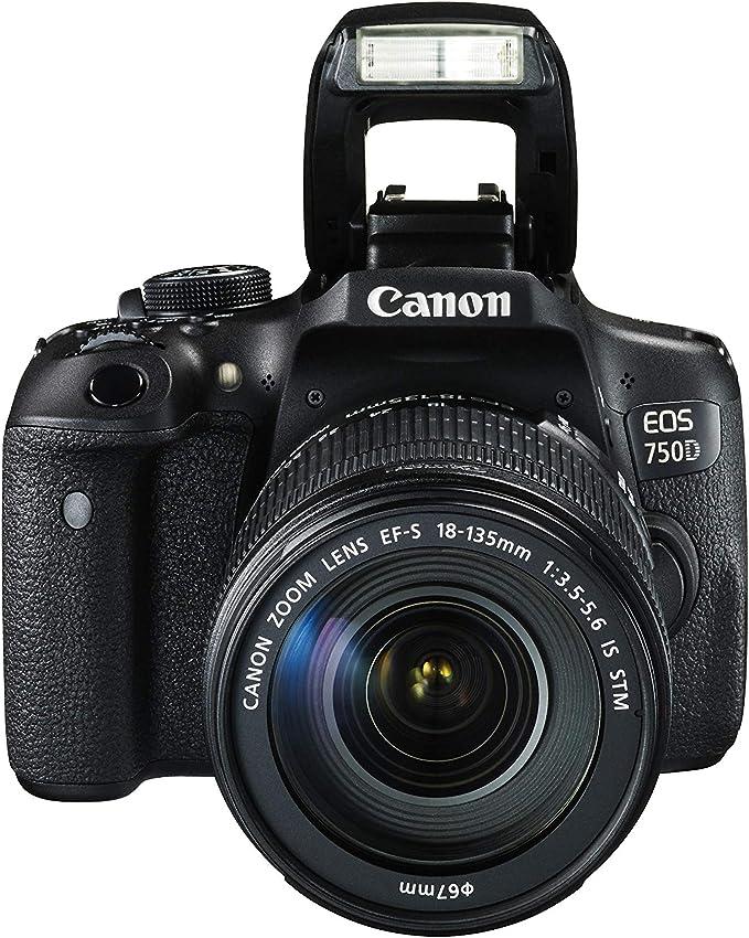 Canon EOS 750D + EF-S 18-135 IS STM Juego de cámara SLR 24.2MP ...