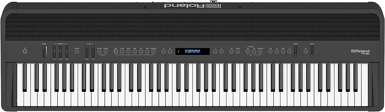 Roland Fp 90 Digital Piano Bk Amazon De Musical Instruments