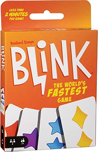 Mattel Reinhards Staupe's Blink the World's Fastest Card Game, Multi Color