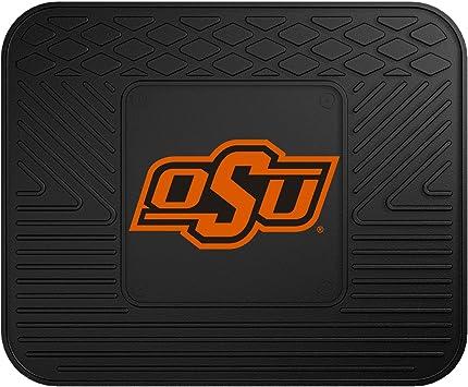 Pilot Alumni Group FM-928 Universal Fit Four Piece Floor Mat Set Collegiate Oklahoma State Cowboys