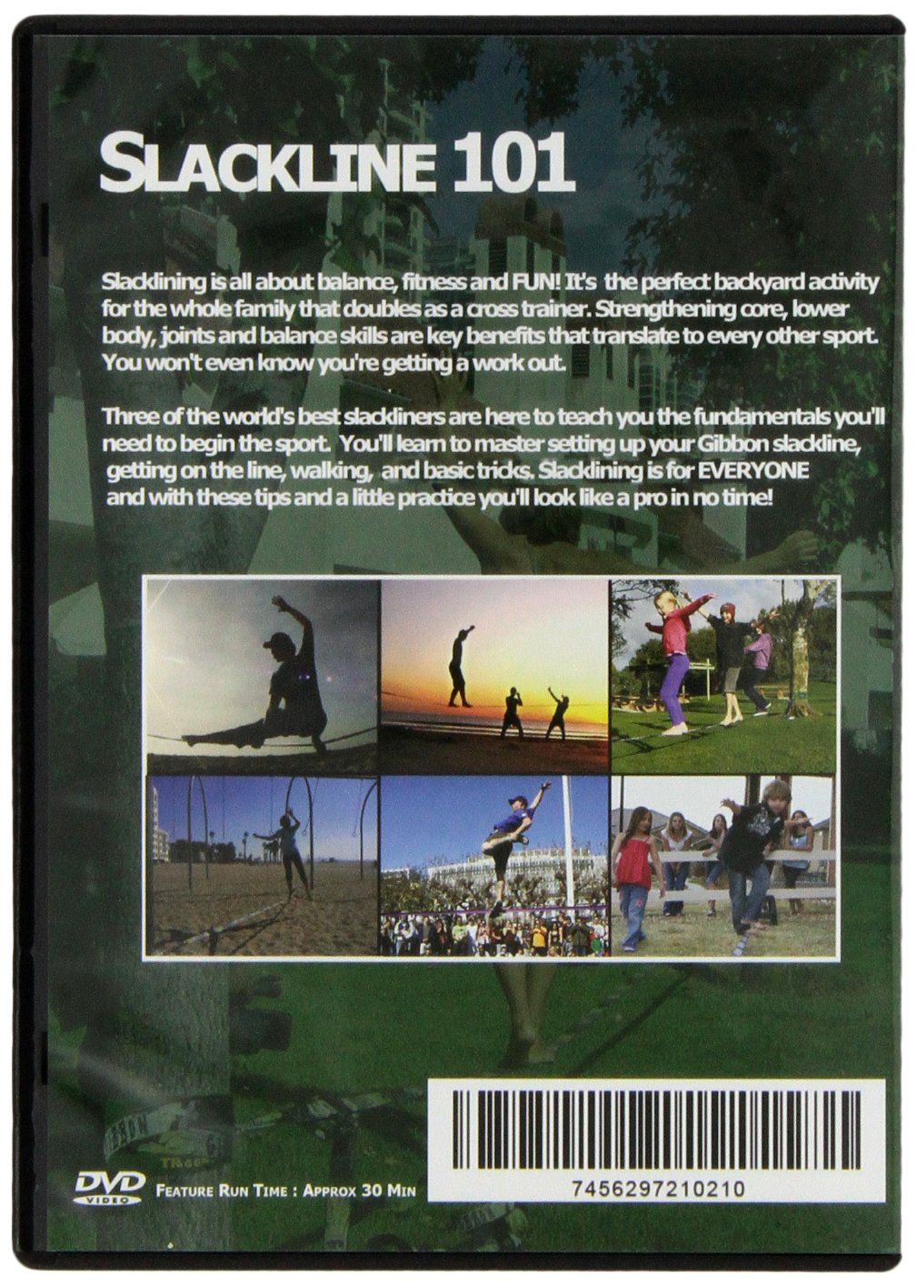 amazon com slackline 101 dvd sports u0026 outdoors