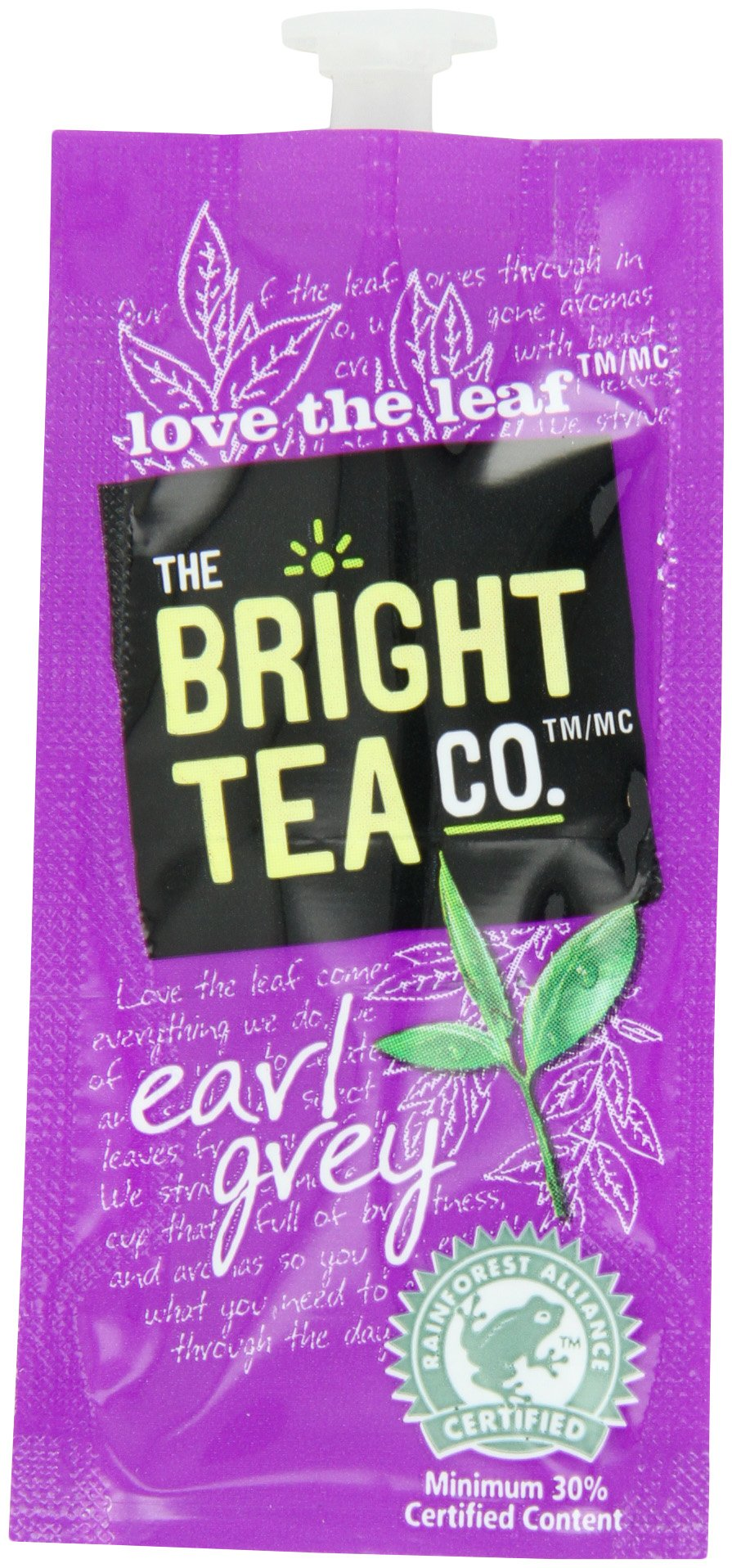 FLAVIA Tea, Earl Grey, 20-Count Fresh Packs (Pack of 5) by Flavia