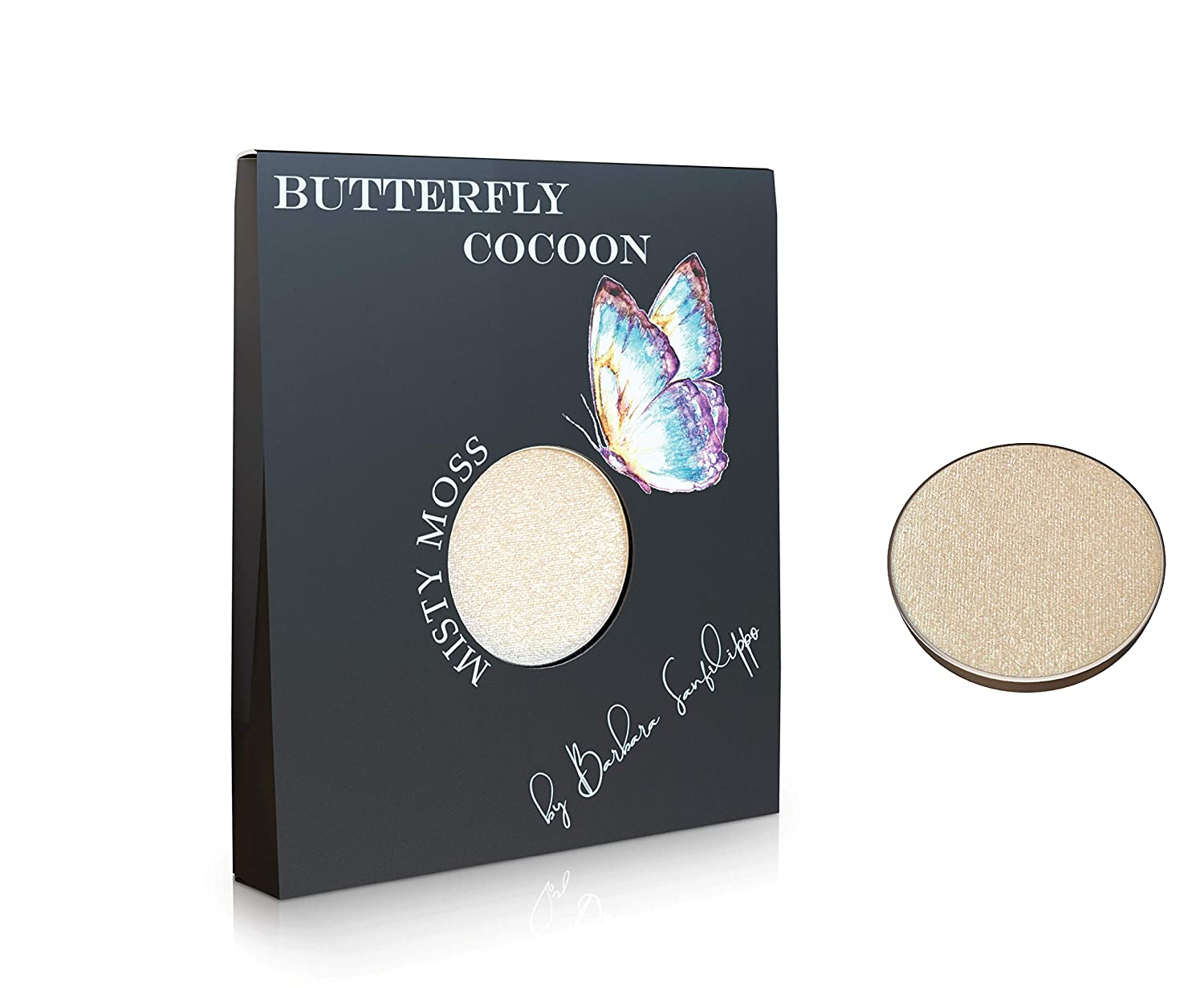Misty Moss Eyeshadow Butterfly Cocoon – Highly pigmented Glitter Eyeshadow